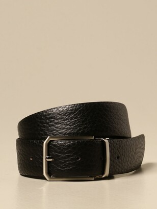 Citizen Reversible Hammered Leather Belt