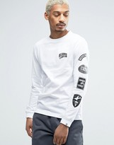 Billionaire Boys Club Long Sleeve Tee With Sleeve Print