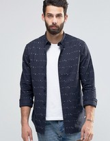 ONLY & SONS Printed Oxford Shirt