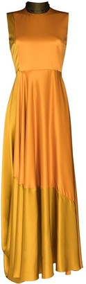 Roksanda Madlen silk flared gown