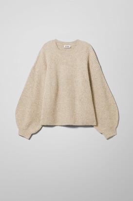 Weekday Xia Sweater - Beige