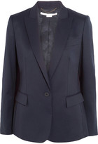 Stella McCartney Ingrid Wool-twill Blazer - Navy