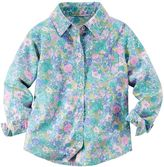Carter's Baby Girl Poplin Button-Down Shirt