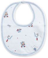 Kissy Kissy First Down Print Bib