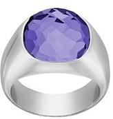 Swarovski Crystal Plated Dot Ring.