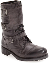 Bos. & Co. Gray Irena Waterproof Leather Boot