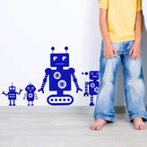 SnuggleDust Studios Robot Pack Wall Stickers
