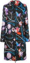 Emilio Pucci floral swirl padded jacket