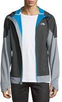 The North Face Kilowatt Front-Zip Hooded Jacket, Dark Gray