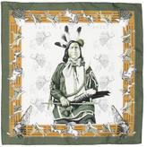 Hermes Pani La Shar Pawnee Pocket Square