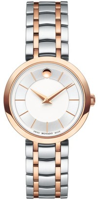Movado 1881 Two-Tone Stainless Steel Bracelet Watch
