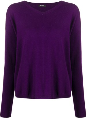 Aspesi Fine Knit V-Neck Jumper