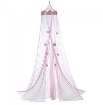 Home Locomotion Pink Princess Bed Canopy for Kids
