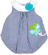 Baby Essentials Gingham Butterfly Cotton Bubble Romper, Baby Girls (0-24 months)