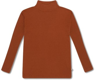 Repose Ams - Warm Hazel Turtle Neck Top - 2 Years