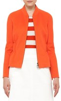 Akris Punto Women's Ruffle Waist Wool Jacket