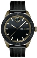 Movado Men's Bold Sport Silicone Strap Watch, 43Mm