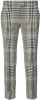 Akris Punto cropped check trousers