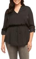 Tart Plus Size Women's Enna Drawstring Waist Tunic
