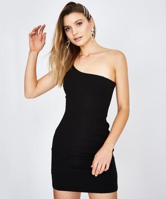 Alice In The Eve Lauren Stretch Crepe Dress Black