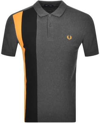 Fred Perry Short Sleeve Polo T Shirt Grey