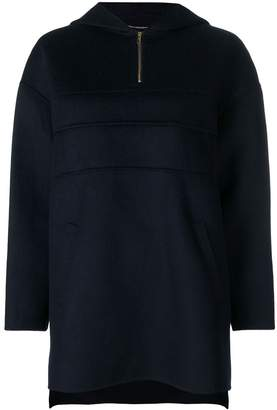 Carven zipped knit sweater