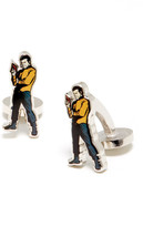 Cufflinks Inc. Captain Kirk Action Cuff Links