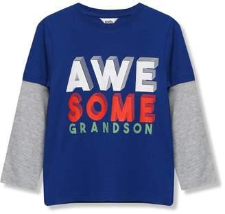 M&Co Awesome grandson t-shirt (9mths-5yrs)