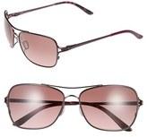 Oakley Women's 'Conquest' 59Mm Sunglasses - Blackberry/ Black Gradient