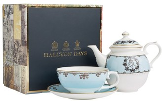 Halcyon Days Castle Of Mey Shell Tea For One Set