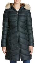Dawn Levy Fur Trim Daphne Down Coat