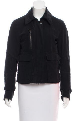 Nili Lotan Lightweight Zip-Accented Jacket