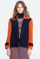 Diane von Furstenberg Kenzly Mohair Bouclé Coat