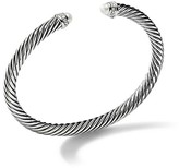 Thumbnail for your product : David Yurman Cable Classics Bracelet with Pearls & Diamonds