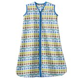 Halo SleepSack Wearable Blanket - Cotton - M - Blue Striped Cars