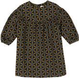 Babe & Tess Geometric Print Dress