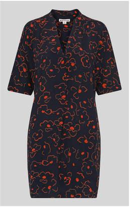 Whistles Luna Magnolia Printed Dress