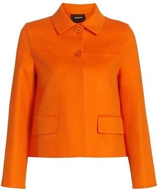 Akris Maureen Double-Faced Cashmere Short Jacket