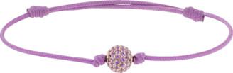 Shamballa Pave Pink Sapphire Orb Bracelet