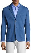 Toscano Cotton Stretch Notch Lapel Sportcoat