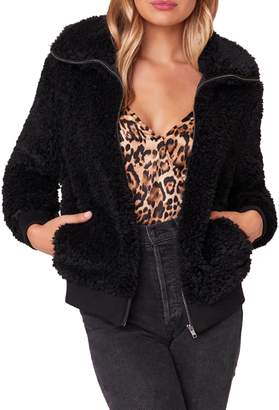 BB Dakota Teddy Or Not Faux Fur Jacket