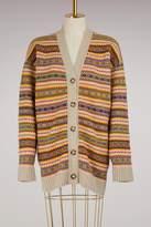 Stella McCartney Oversize wool cardigan