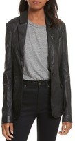 Tracy Reese Women's Leather Jacket