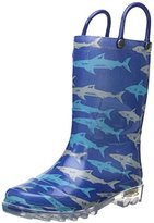 Western Chief Kids' Deep Sea Shark Rain K Pull-On Boot