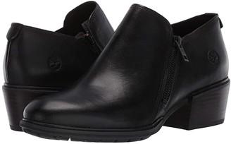 Timberland Sutherlin Bay Shootie (Light Beige Full Grain Leather) Women's Zip Boots