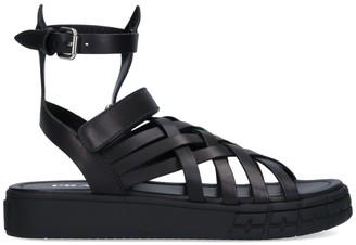 Prada Braided Sandals