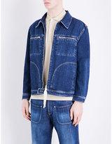 Loewe Zip-up Denim Jacket