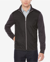 Perry Ellis Men's Full-Zip Multi-Media Jacket