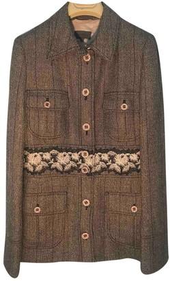 La Perla Beige Wool Jacket for Women