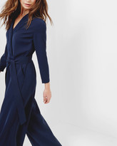 Ted Baker Tailored wrap jumpsuit